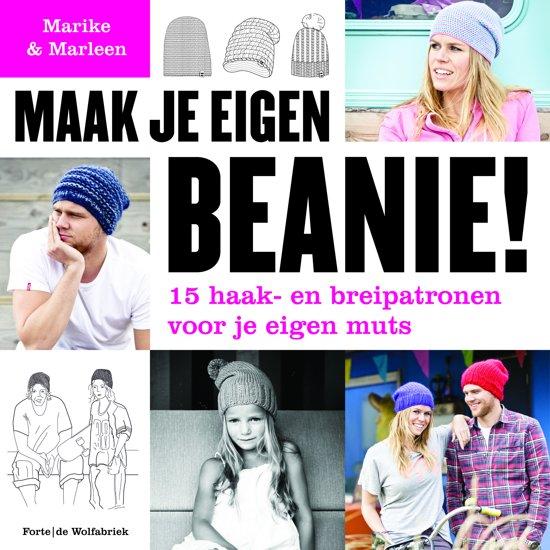 Bolcom Maak Je Eigen Beanie Marike Doedens 9789058779977 Boeken
