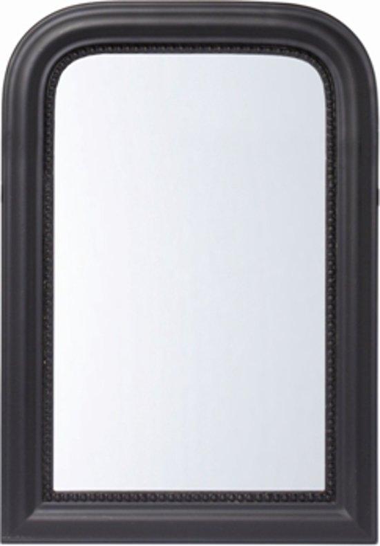 Riverdale paris boog spiegel hout 60x42 cm for Zwarte spiegel