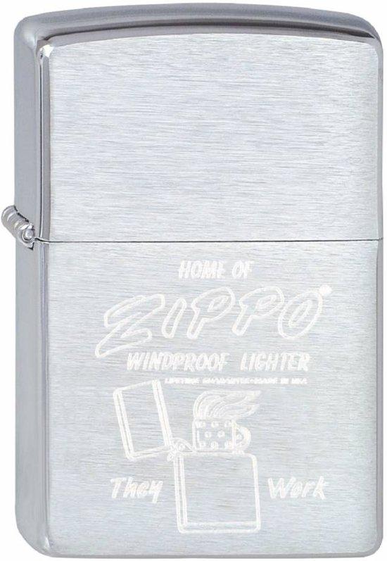 Aansteker Zippo Home of Zippo