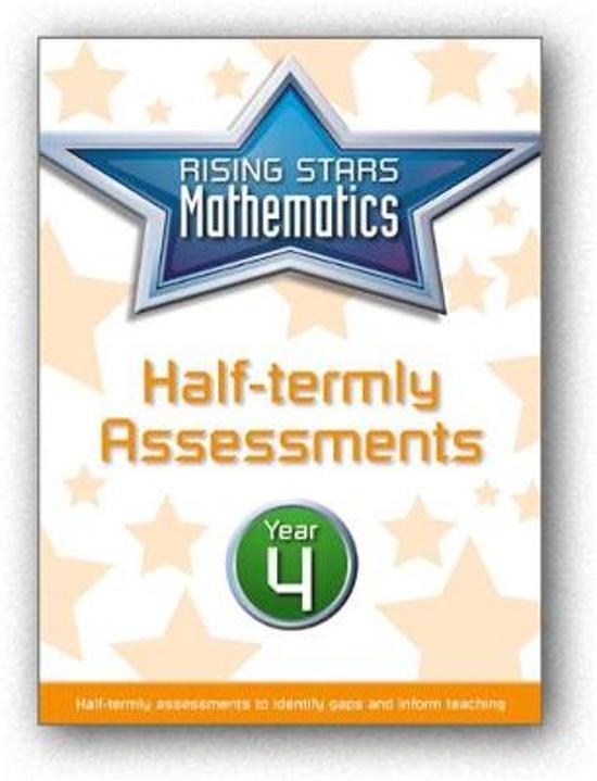 Rising Stars Mathematics Year 4 Half-termly Assessments