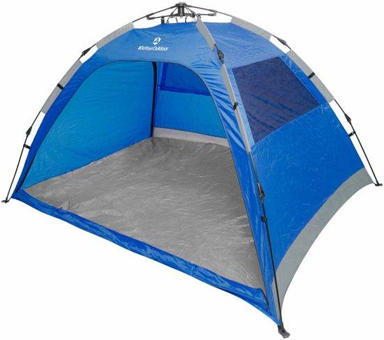 #DoYourOutdoor - Strandtent - »Moewe« - Zonnescherm incl. draagtas en 4 haringen - 230x150x110cm - blauw