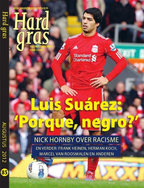 Boekomslag voor Luis Sua�rez: 'porque, negro?'