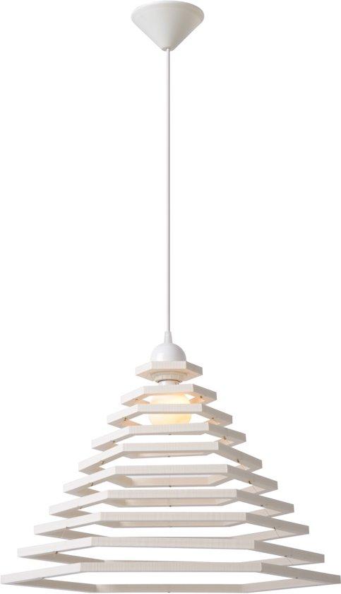 Lucide TORA - Hanglamp - Wit