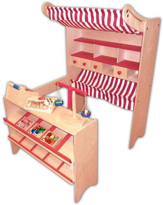 Kidkraft supermarkt winkeltje | Houten speelgoed, Speelgoed