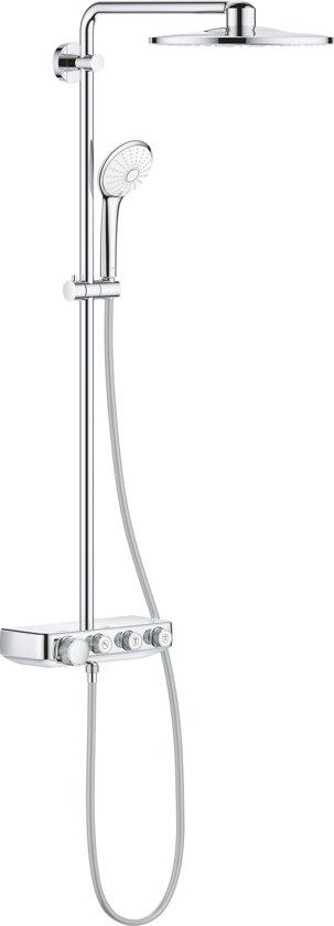 GROHE Euphoria Smartcontrol 310 Regendouche - 31 cm - verstelbare wandbevestiging - 26507000