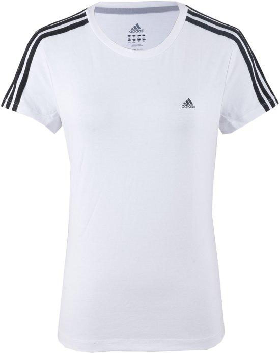 bol.com | adidas Essentials 3Stripe - Sportshirt - Vrouwen ...