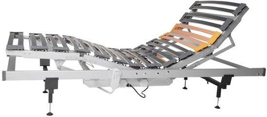 Slaaploods.nl Flexline Premium - Lattenbodem - 90x200 cm - Elektrisch Verstelbaar
