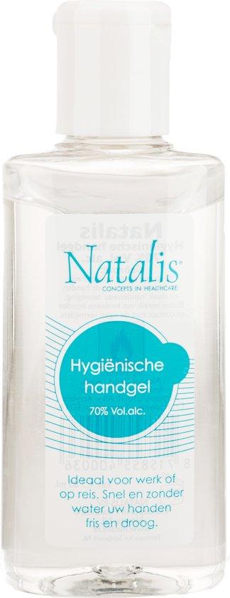 Natalis Handgel Desinfect Reis - 75 ml - Huidontsmettingsmiddel