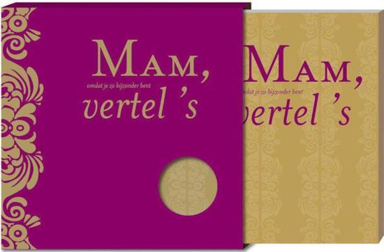 Cover van het boek 'Mam vertel 's' van Elise van Vliet