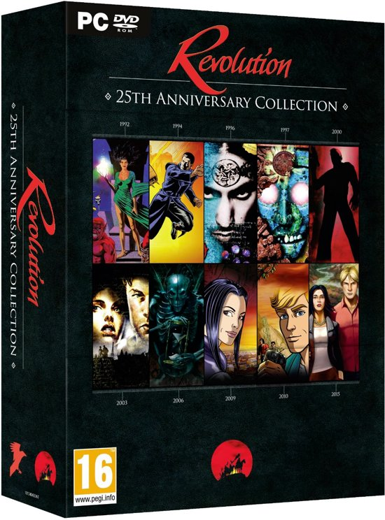 Revolution Software - 25th Anniversay Anthology - Windows