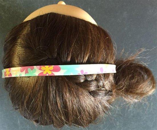 Bware! Haarbanden Gebloemd! Groen, Bruin & Roze (4 Stuks)