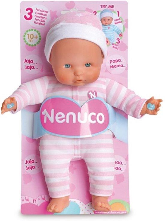 Hedendaags bol.com | Pop Nenuco soft met geluid roze 25 cm, Nenuco | Speelgoed SQ-73