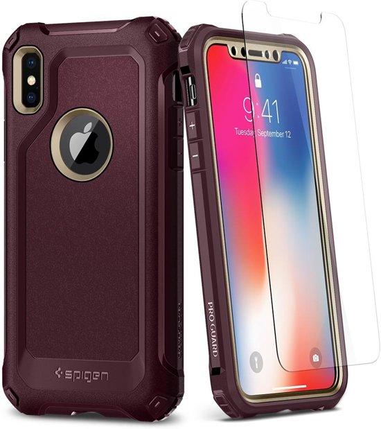 buy popular 5f400 d1266 bol.com | Spigen iPhone X Case Pro Guard Champ Gld