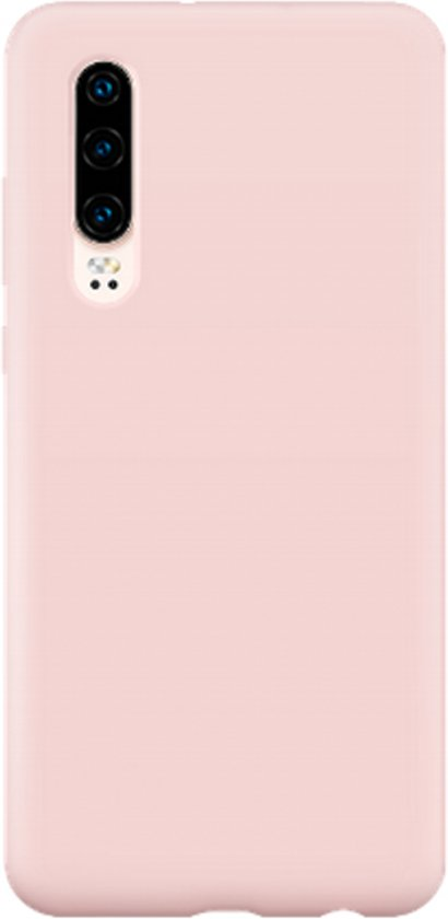 Teleplus Samsung Galaxy A70 Soft Touch Silicone Case Pink + Nano Screen Protector