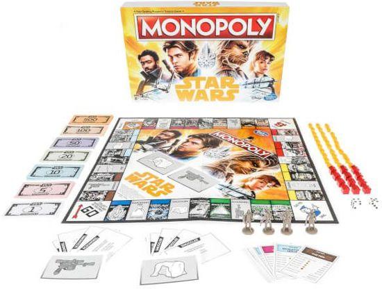 Monopoly Star Wars Han Solo - Bordspel