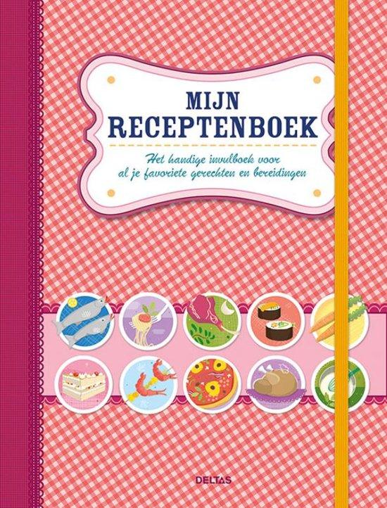 Bolcom Mijn Receptenboek Rood Znu 9789044751246 Boeken