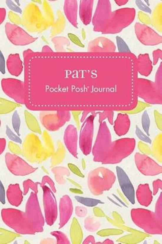 Pat's Pocket Posh Journal, Tulip