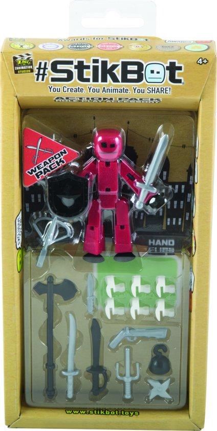 Afbeelding van het spel Stikbot extension Weapon Pack