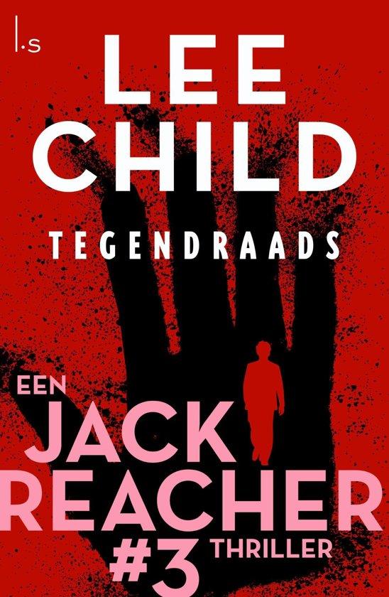 Boekomslag voor Jack Reacher 3 - Tegendraads