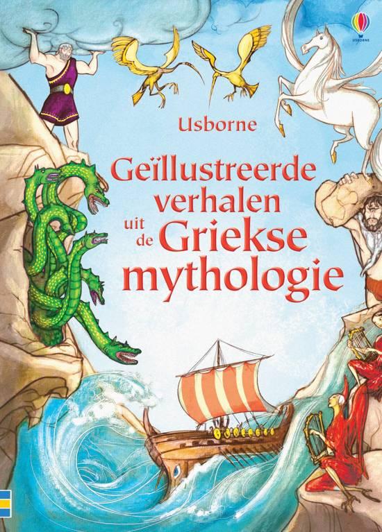 GEILLUSTREERDE VERHALEN UIT DE GRIEKSE MYTHOLOGIE