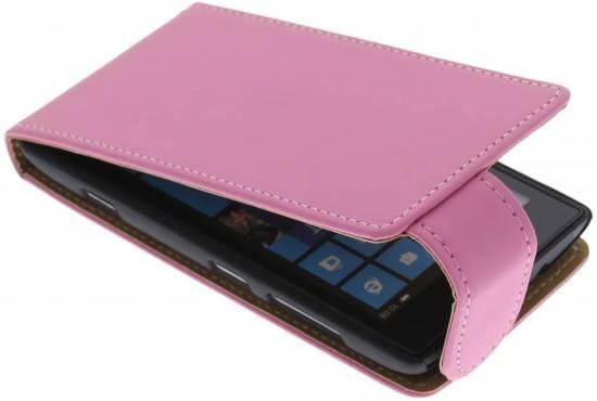 Cas Flip Classique Rose Pour Nokia Lumia 520 fAxgNuoRlA