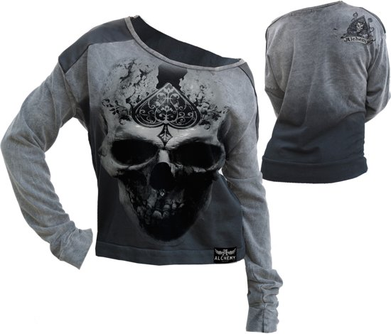 Alchemy AEA Swear Shirt road The Pact gray calipo - M