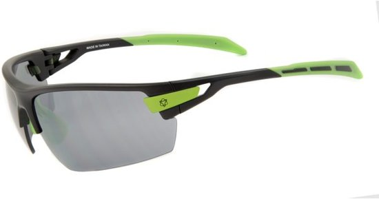 dd622ed312c48b AGU Foss - Sportbril - Lenscat. 3 - ☀ - Zwart Groen