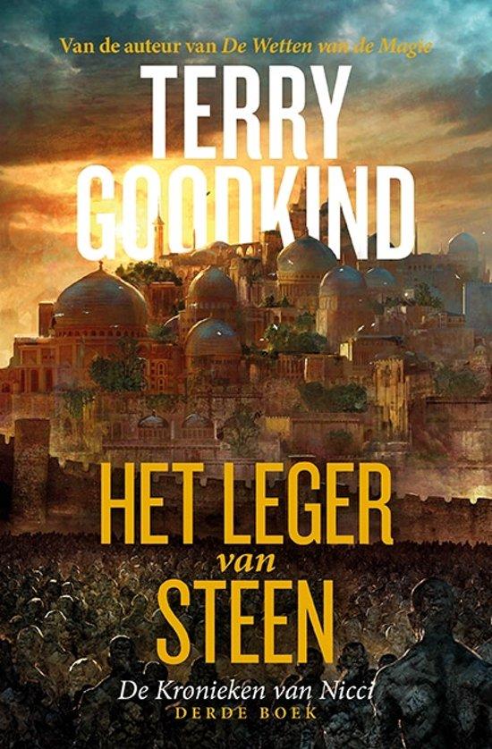 Boek cover De Kronieken van Nicci 3 - Het Leger van Steen van Terry Goodkind (Paperback)