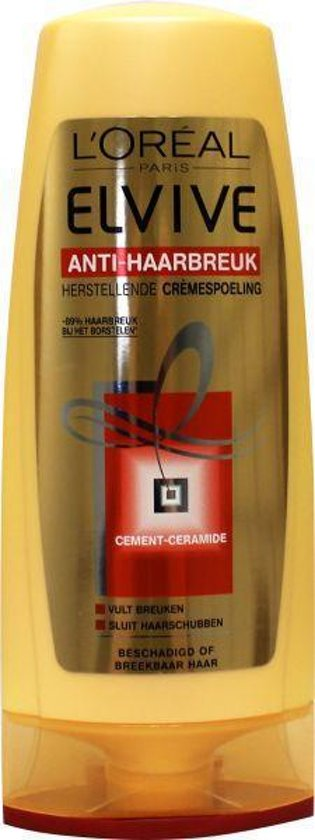 L'Oréal Paris Elvive Anti-Haarbreuk - 200 ml - Crèmespoeling