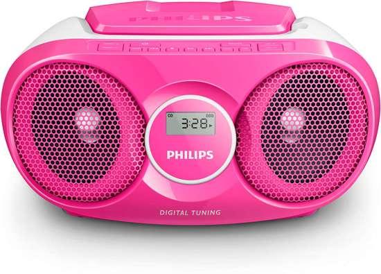 Philips AZ215C - Radio/CD-speler - Roze