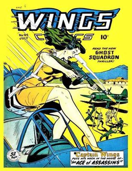 Wings Comics # 95