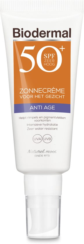 Biodermal Zon Zonnebrand - SPF 50+ - 40ml - Anti Age