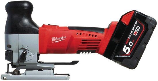 Milwaukee JSB-502X HD28 Decoupeerzaagmachine 28V 5.0Ah Li-Ion in Koffer