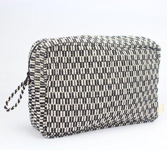Beautycase Jansje design zwart/wit