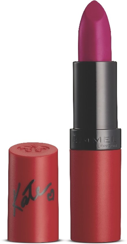 Rimmel London Lasting Finish BY KATE MATTE - 107 Burgundy Wine - Lipstick