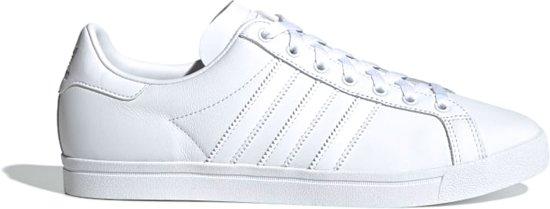 adidas Coast Star  Sneakers - Maat 44 2/3 - Unisex - wit