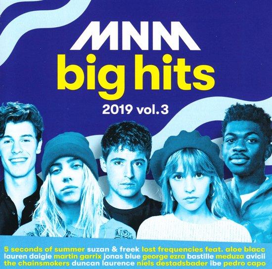 CD cover van Mnm Big Hits 2019 Volume 3 van various artists