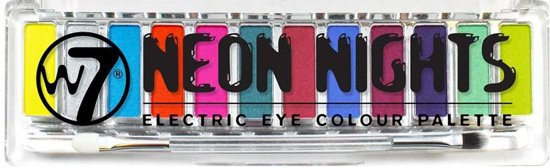 W7 Neon Nights Electric Eye Colour - Oogschaduw Palet