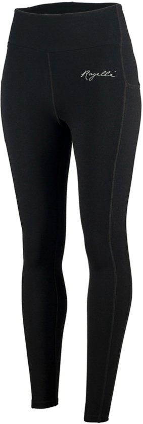 Rogelli Power Runningtight Dames Sportbroek - Maat XL  - Vrouwen - zwart