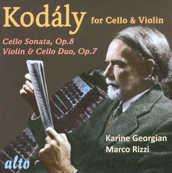 Kodaly Works For Cello And Violin