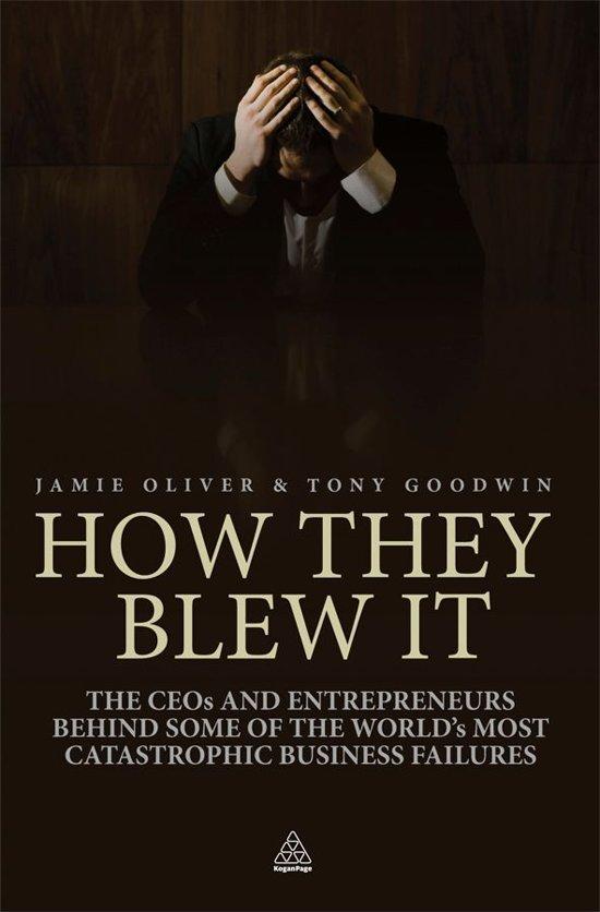 Boekomslag voor How They Blew It