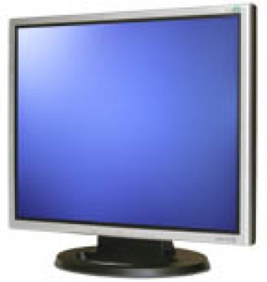Wortmann AG 1940 19'' LED Zwart, Zilver computer monitor