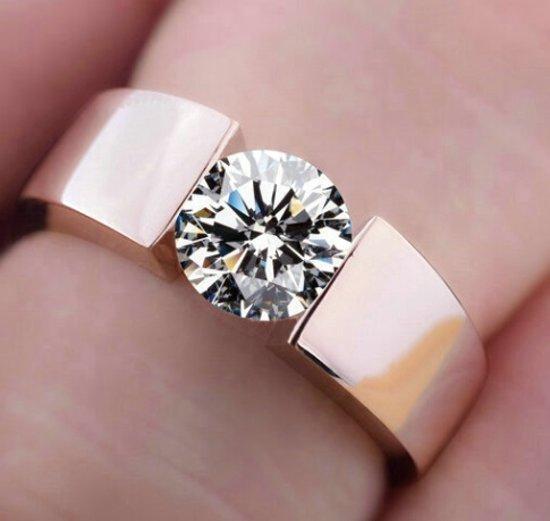 Image: bol.com | Klassieke trouwring voor hem of haar-verlovingsring-22 ...