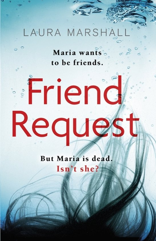 Boek cover Friend Request van Laura Marshall (Paperback)