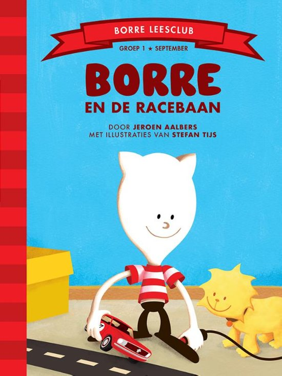 De Gestreepte Boekjes - Groep 1 september: Borre en de racebaan