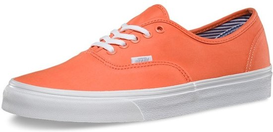 Vans Sneakers Taille Authentique Orange Unisexe 36,5