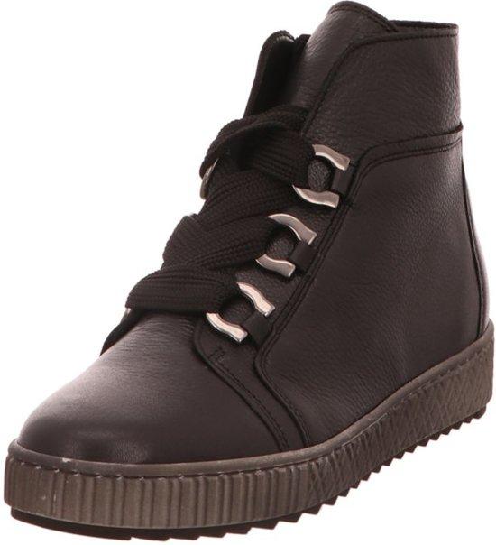 b255ad517de bol.com | Gabor 93.760.27 lederen sneakers voor dames zwart