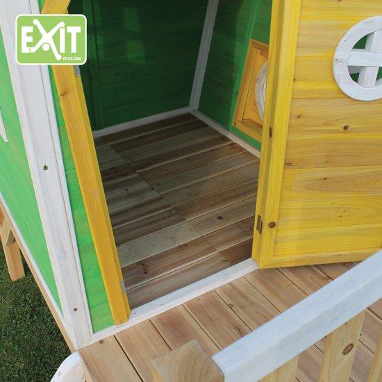 EXIT Fantasia 300 Speelhuisje met glijbaan