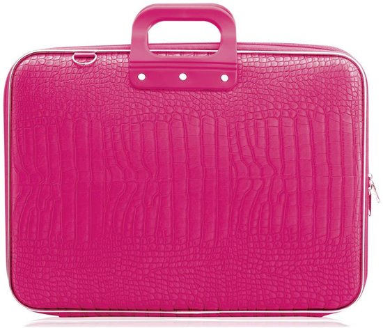 6491c5ada8a bol.com | Bombata COCCO 17 inch Laptoptas – 17,3 inch / Donker roze