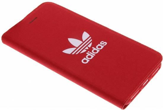 adidas ADICOLOR Booklet Rood iPhone 8+7+6+ Hoesje